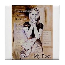 My Poet Tile Coaster