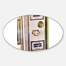 NYC: Automat Sticker (Oval)