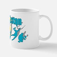 Kazakhstan Volleyball Mug