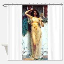 Godward - The Mirror. Shower Curtain