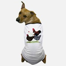 Plymouth Rock Chickens Dog T-Shirt