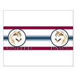 Siberian Husky United Paws Small Poster