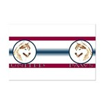 Siberian Husky United Paws Mini Poster Print