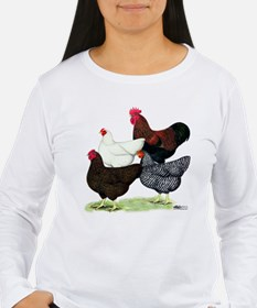 Plymouth Rock Chickens T-Shirt