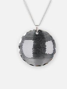 Mirror Ball Necklace