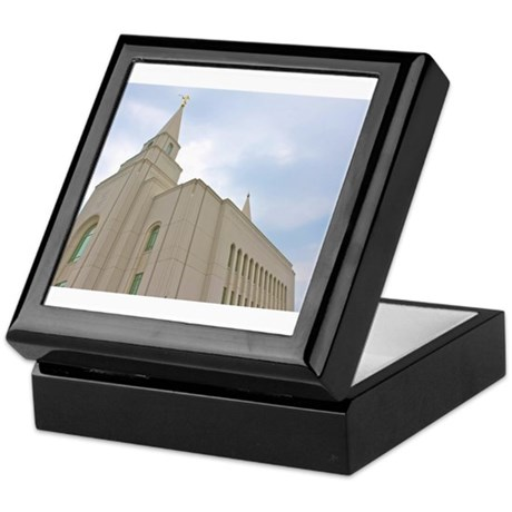 Kansas City Temple Keepsake Box