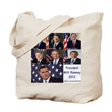 President Mitt Romney 2012 Tote Bag