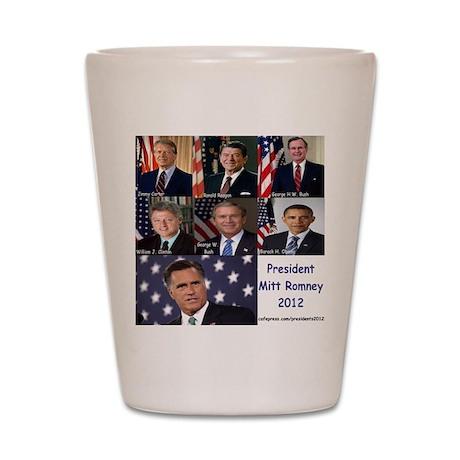 President Mitt Romney 2012 Shot Glass
