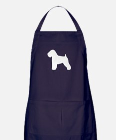 Wheaten Terrier Apron (dark)