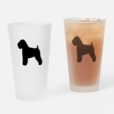 Wheaten Terrier Drinking Glass