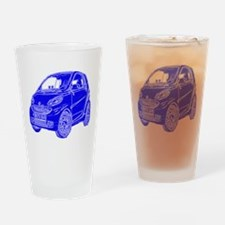 Compact Car Drinking Glass