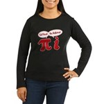 Get Real Women's Long Sleeve Dark T-Shirt