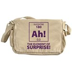 Element of Surprise Messenger Bag