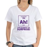 Element of Surprise Women's V-Neck T-Shirt