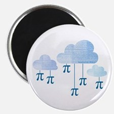 Pi in the Sky Clouds Blue Magnets