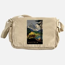 Austria Band Messenger Bag