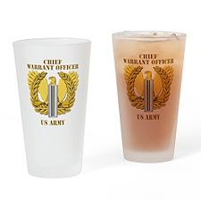 Army - Emblem - CW5 Drinking Glass