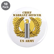 """Army - Emblem - CW5 3.5"""" Button (10 pack)"""