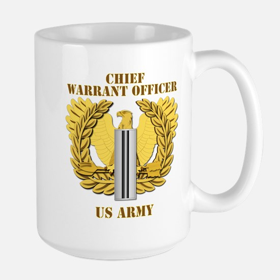 Army - Emblem - CW5 Large Mug