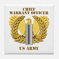 Army - Emblem - CW5 Tile Coaster
