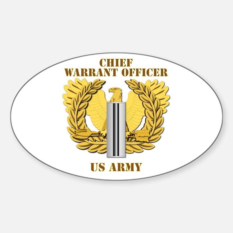 Army - Emblem - CW5 Decal