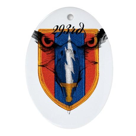 293rd logo Ornament (Oval)