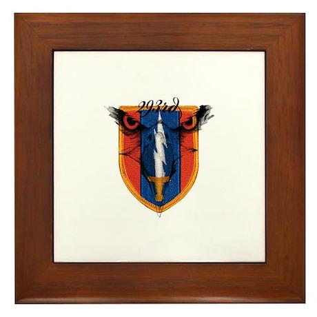 293rd logo Framed Tile