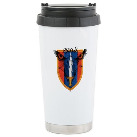 293rd logo Stainless Steel Travel Mug