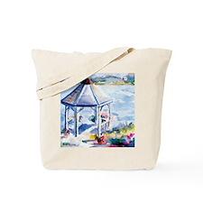 Gazebo At the Cove Tote Bag