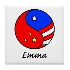 Emma Tile Coaster
