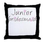 Sweet Jr. Bridesmaid Throw Pillow