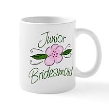 Jr. Bridesmaid Pink Flower Mug