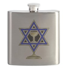 Jewish Star Flask