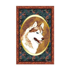 Siberian Husky Designer Posters