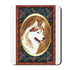 Siberian Husky Designer Mousepad
