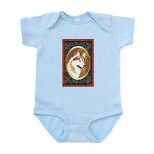 Siberian Husky Designer Infant Creeper