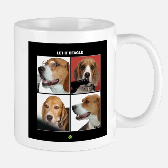 Let It Beagle Mug