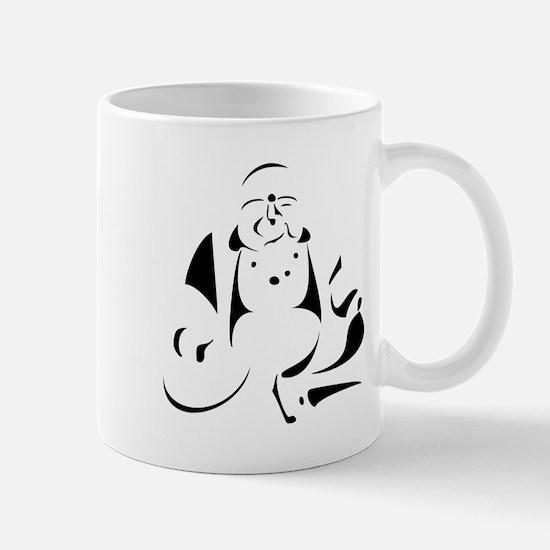 Graphic Buddha Mug