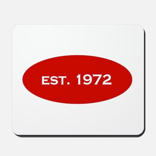 Est. 1972 Mousepad