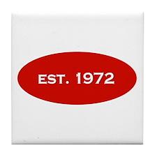 Est. 1972 Tile Coaster