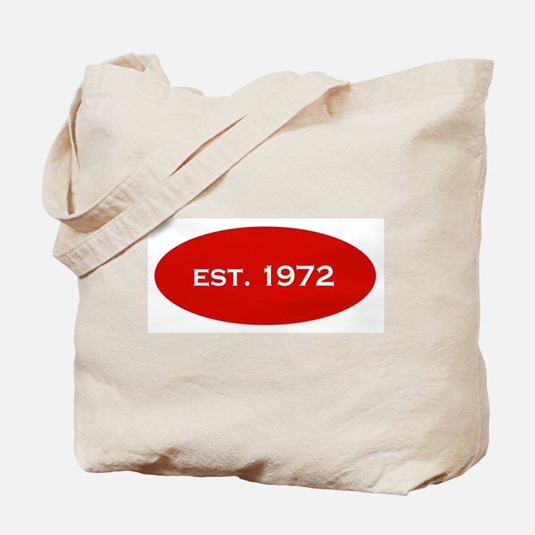 Est. 1972 Tote Bag