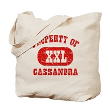 Property Of Cassandra Tote Bag