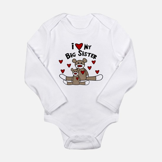 i heart big sister Body Suit