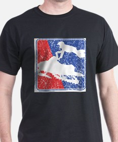 Red-White-and-Blue-Distress T-Shirt