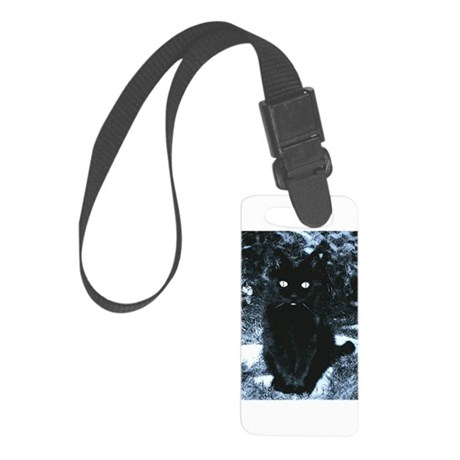 Midnight in Moonlight Small Luggage Tag