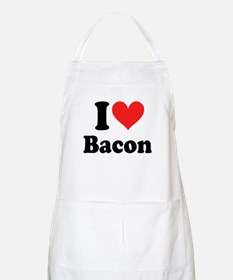 I Heart Bacon Apron