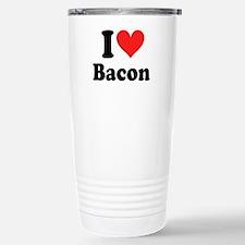 I Heart Bacon Travel Mug