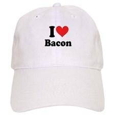 I Heart Bacon Baseball Cap