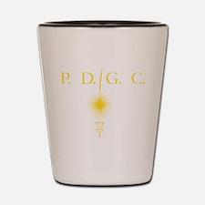 Perth Disc Golf Gold Shot Glass