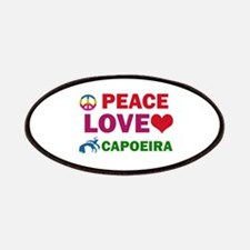Peace Love Capoeira Designs Patches